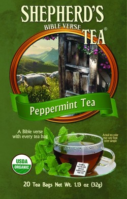 Peppermint Bible Verse Tea