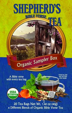 SAMPLER BOX - Bible Verse Tea