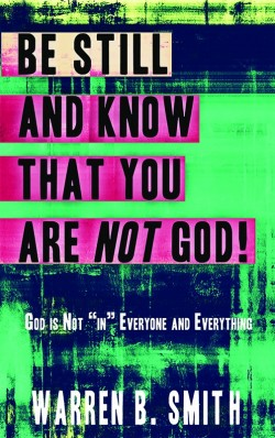 PDF-BOOKLET - Be Still and Know That You are Not God!