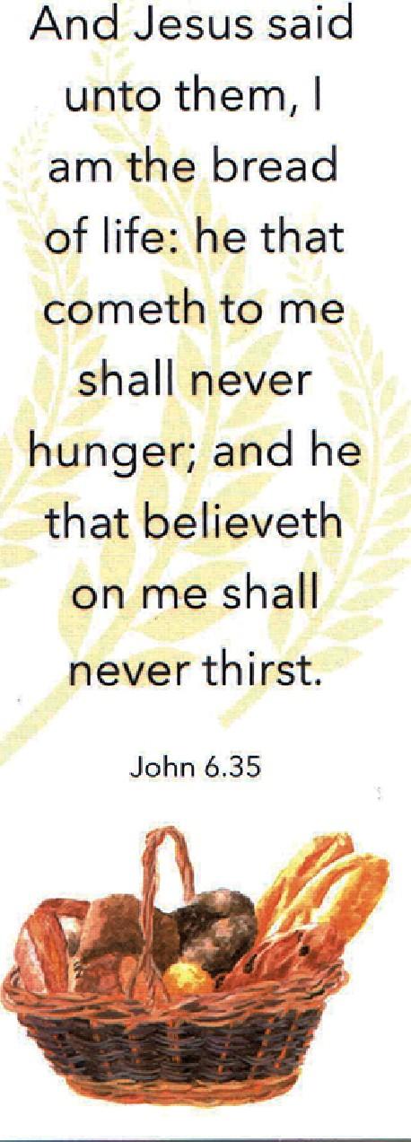 BOOKMARK - John 6:35