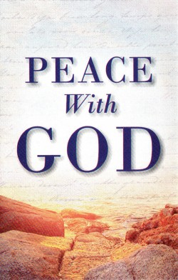 Peace With God Gospel Tract - 10 Pack