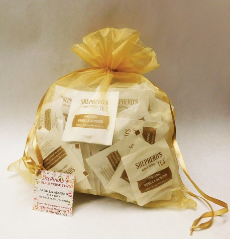 Vanilla Almond Bible Verse Tea - Bulk Bags (100 tea bags)